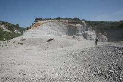 Cava per l'estrazione di pomici a Lipari (fotografia di Gianfilippo De Astis)