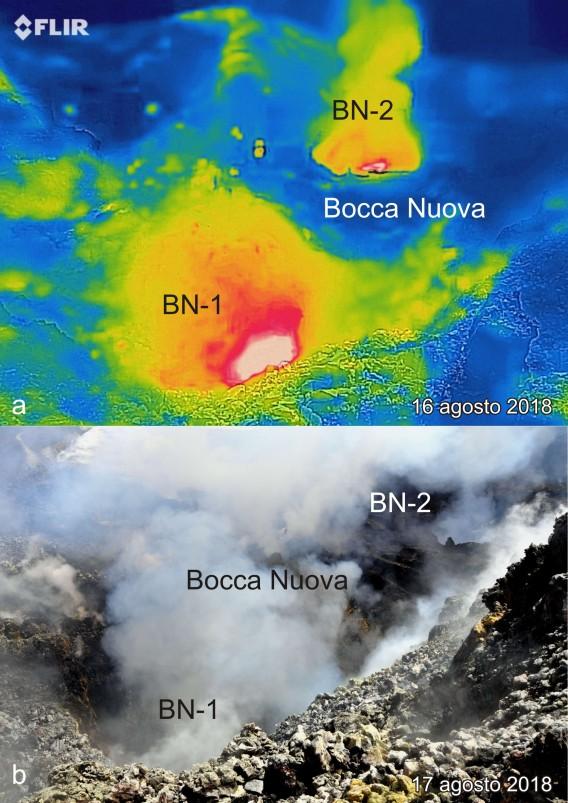 Bocca Nuova (Etna) agosto 2018