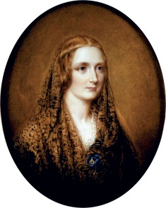 Figura 2 - Mary Shelley, in un ritratto di R. Easton.