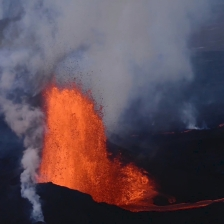 Fontana di lava, dal video VolFilm Lava-l'impatto