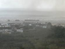 Figura 2 - Onda di maremoto del 2002 a largo dell'isola di Stromboli. Fotografia di Gianfranco Cincotta.