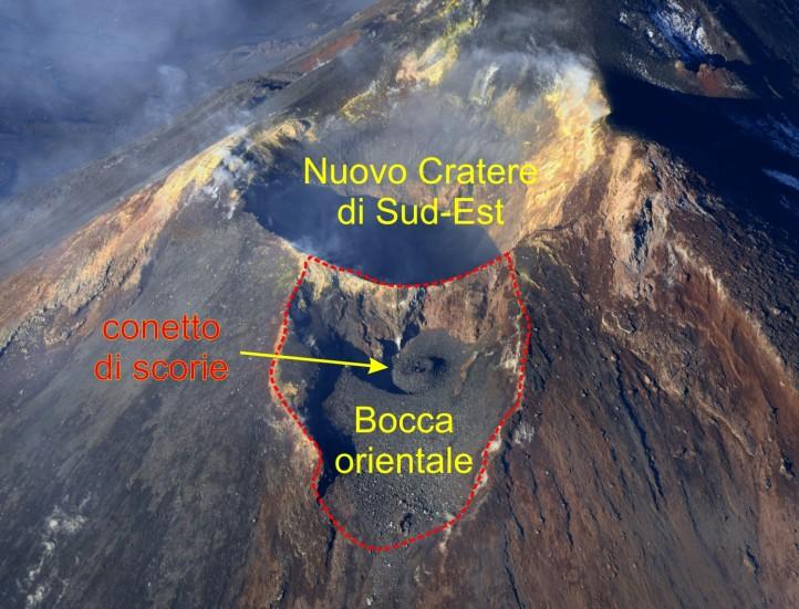 Bocca orientale del Nuovo Cratere di Sud-Est