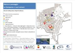 Figura 1 - Itinerario del trekking urbano organizzato a Napoli dal Coordinamento Napoletano Donne nella Scienza il 20 ottobre 2018, nell'ambito della manifestazione Natura e paesaggio: la Campania e i suoi vulcani.