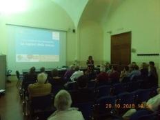 Figura 6 – Un momento del Convegno presso la facoltà di Architettura dell'Università Federico II di Napoli.