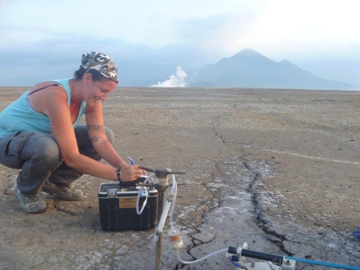 4 - AlessandraSciarra_misure di radon e flussi di metano su Lusi in Indonesia